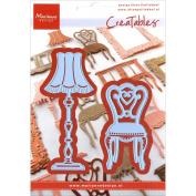 Marianne Design Creatable Dies - Creatables Die Elines Chair & Lamp
