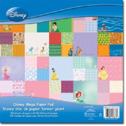 Sandylion 30cm by 30cm Mega Paper Pad, Disney, 150 Sheet Per Pad