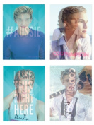 Cody Simpson 4-Pack Lenticular Stickers