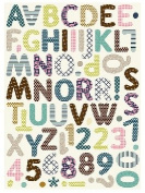 Bella Blvd Belvedere Estate Sale Chipboard Alphabet