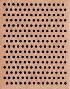 Large Medium Dot Background Wood Mounted Rubber Stamp