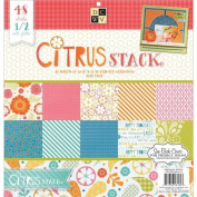 Die Cuts With A View 48-Sheet Premium Stack, 30cm by 30cm , Citrus