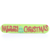 "Foamie ""Merry Christmas"" Sign for Crafts and Decorations Package of 12"