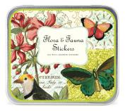 Cavallini Decorative Stickers Flora & Fauna, Assorted