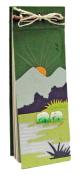 Mr. Ellie Pooh Elephant Dung Paper List Pad, Dark Green