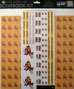 Sports Solution Arizona State Sun Devils Scrapbook Page Kit