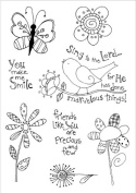 Inky Antics Clear Stamp Set, Groovy Nature