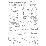 Honeypop Clear Stamp Set 10cm x 13cm -Baking Pup