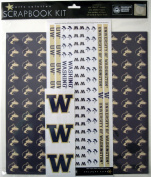 Sports Solution 90024 Washington Huskies Scrapbook Page Kit