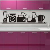 Cute Kitchen Vinyl Art Wall Sticker Decorative Home Decals PVC Decor S0029