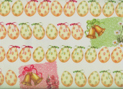Paper Easter Eggs Decorative Gift Wrap Paper Roll of 2 Full Sheets