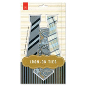 BasicGrey Iron on Ties Classic Scrapbook, Small
