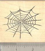 Spider Web Rubber Stamp