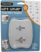Fiskars - Wire Winder - Design Template Double Spiral