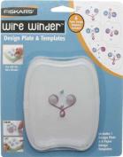 Fiskars - Wire Winder - Design Template Spiral Hearts