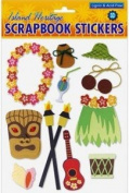 Hawaiian Scrapbook Stickers Luau Fun 3D