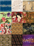 Dove of the East 12-Sheet Paper Sampler for Scrapbooking, Japan Journey, 30cm by 30cm