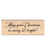 My Sentiments Exactly Wood Mounted Rubber Stamps, Merry & Bright