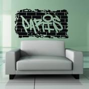 "60*45CM ""PARIS"" Vinyl Art Wall Sticker Home Decorative Decor Living Room Decal EWQ0047"