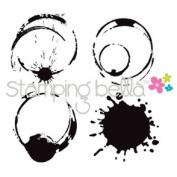 Stamping Bella Cling Rubber Stamp 5.1cm x 5.1cm -Java Spills