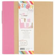 Sn@p! Binder 15cm x 20cm -Pink