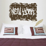 "60*45CM ""NEW YORK"" Vinyl Art Wall Sticker Room Decorative Decor Living Room Decals EWQ0046"