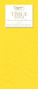 Entertaining with Caspari Tissue Paper, Yellow, 8-Sheets