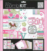 me & my BIG ideas 30cm by 30cm Scrapbook Page Kit, Sweet Girl