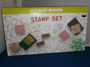 Kid Made Modern Rubber Stamp Set - Christmas Themed