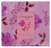 MBI by MCS 866106 Expressions Collection 34cm by 32cm Scrapbook with 30cm by 30cm Top Loading Page, Imagine