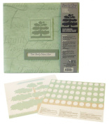 MBI by MCS Family Tree Scrapbook Album, 30cm by 30cm , Sage