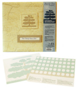 MBI by MCS Family Tree Scrapbook Album, 30cm by 30cm , Khaki