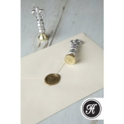 Envelope Wax Seal Letter M