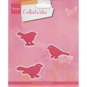 Marianne Designs Collectables Dies-Birds 3.8cm x 2.5cm 3/Pkg