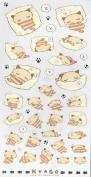 Nemukko Nyago Sticker Sheet