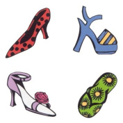 Rubber Stampede Style Stamp Set - Shoe Collection