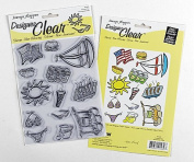 Summer Fun Clear Stamp Set