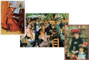 Entertaining with Caspari Pierre-Auguste Renoir Blank Notecards, Set of 8