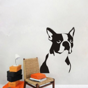 60*45CM Cartoon Cute Dog Animal Vinyl Art Wall Sticker Baby Children Kids Room Decals PVC Nursery Decor A0229
