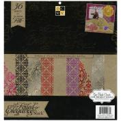 Elegance Paper Stack 30cm x 30cm 48/Sheets-24 Designs/2ea
