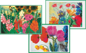 Entertaining with Caspari Emil Nolde Blank Notecards, Set of 8