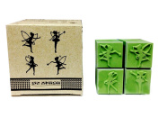 Fairy Tales Decorative Scrapbook Rubber Stamp Creation 4 Styles Set