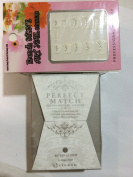 lechat perfect match DUAL SET Soak Off Gel Polish #113 c'est la vie free 1 french stone art nail stickers
