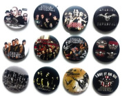 AVENGED SEVENFOLD (2) Awesome Quality Lot 12 New Pins Pinback Button Badge 3.2cm