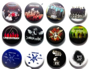 LINKIN PARK (1) Awesome Quality Lot 12 New Pins Pinback Buttons Badge 3.2cm