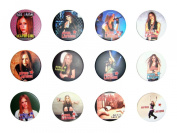 Avril Lavigne (4) Awesome Quality Lot 12 New Pins Pinback Button Badge 3.2cm