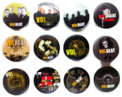 VOLBEAT Danish (2) Awesome Quality Lot 12 New Pin Pinback Button Badge 3.2cm