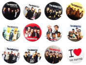 THE WANTED Awesome Quality Lot 12 New Pins Pinback Buttons Badge 3.2cm