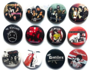 The Distillers (2) Awesome Quality Lot 12 New Pin Pinback Button Badge 3.2cm