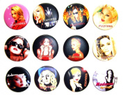MADONNA MDNA (1) Awesome Quality Lot 12 New Pins Pinback Buttons Badge 3.2cm